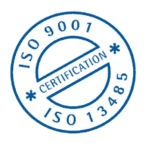 Certified quality - ISO 9001 & ISO / EN 13485